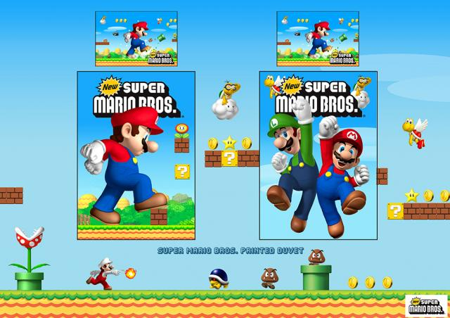 Nintendo - Mario & Luigi Board 1