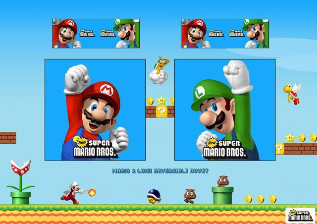 Nintendo - Mario & Luigi Board 2