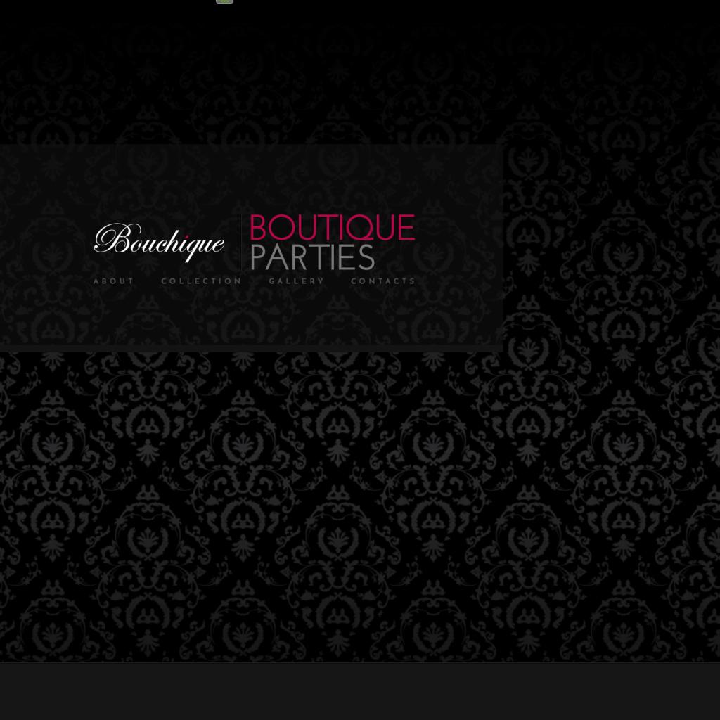 Bouchique (Offline Website)