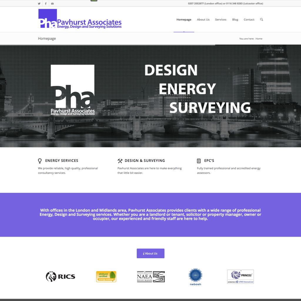 Pavhurst Associates Website
