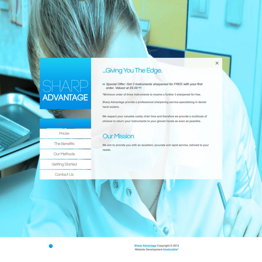 Sharp Advantage Website