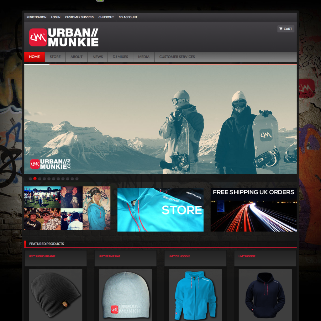 UrbanMunkie™ Website